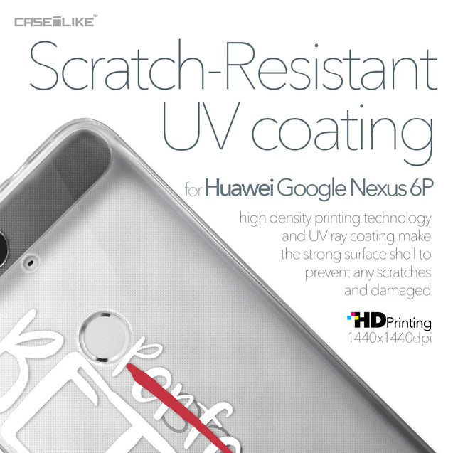 Huawei Google Nexus 6P case Quote 2410 with UV-Coating Scratch-Resistant Case | CASEiLIKE.com