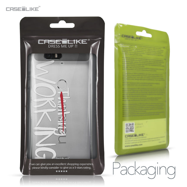 Huawei Google Nexus 6P case Quote 2411 Retail Packaging | CASEiLIKE.com