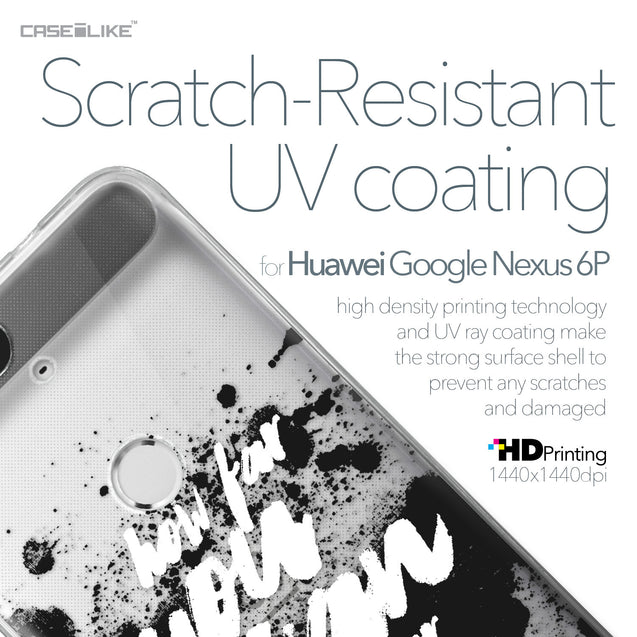 Huawei Google Nexus 6P case Quote 2413 with UV-Coating Scratch-Resistant Case | CASEiLIKE.com