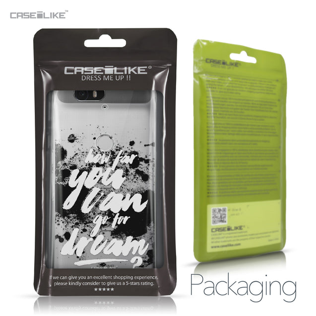 Huawei Google Nexus 6P case Quote 2413 Retail Packaging | CASEiLIKE.com
