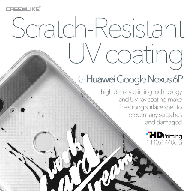 Huawei Google Nexus 6P case Quote 2414 with UV-Coating Scratch-Resistant Case | CASEiLIKE.com