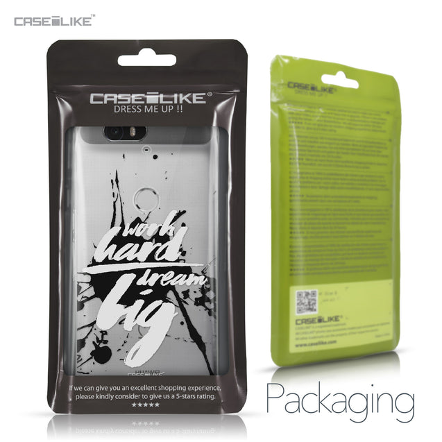 Huawei Google Nexus 6P case Quote 2414 Retail Packaging | CASEiLIKE.com