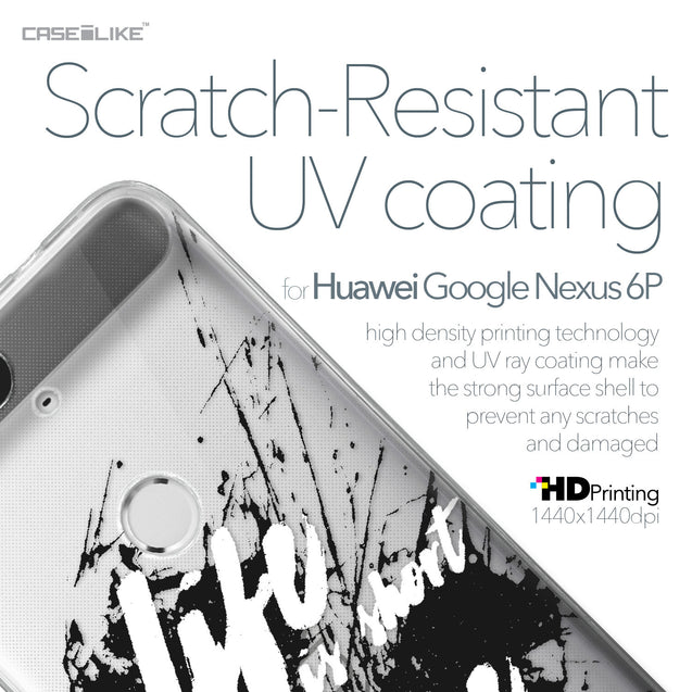 Huawei Google Nexus 6P case Quote 2416 with UV-Coating Scratch-Resistant Case | CASEiLIKE.com