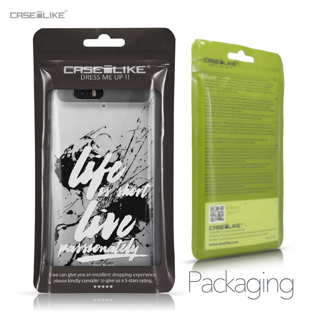 Huawei Google Nexus 6P case Quote 2416 Retail Packaging | CASEiLIKE.com