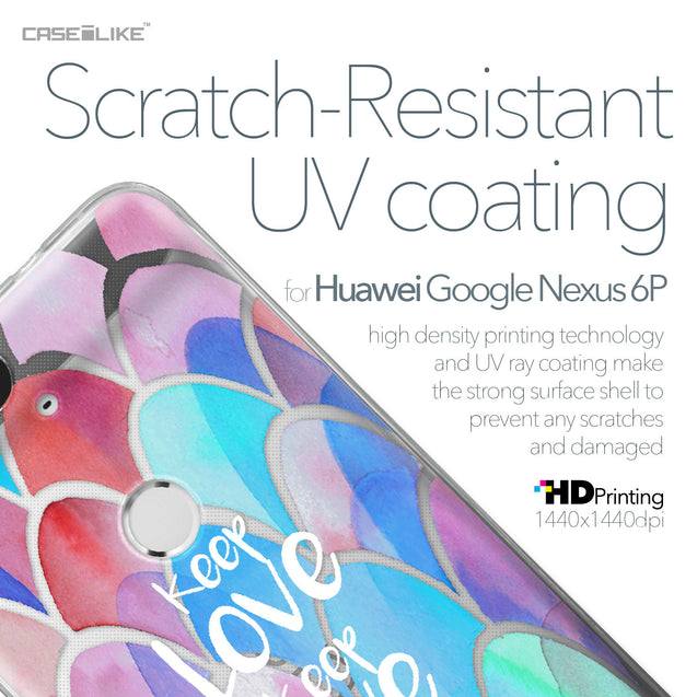 Huawei Google Nexus 6P case Quote 2417 with UV-Coating Scratch-Resistant Case | CASEiLIKE.com