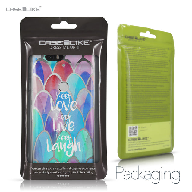 Huawei Google Nexus 6P case Quote 2417 Retail Packaging | CASEiLIKE.com