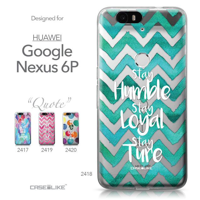 Huawei Google Nexus 6P case Quote 2418 Collection | CASEiLIKE.com