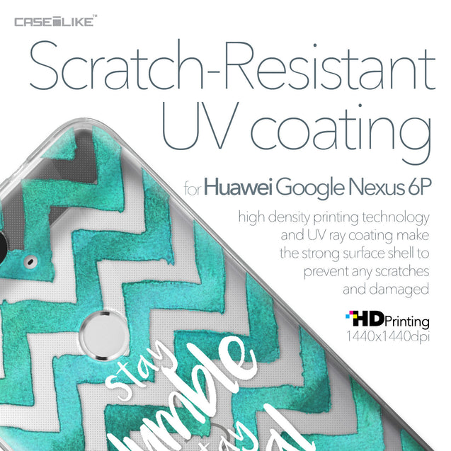 Huawei Google Nexus 6P case Quote 2418 with UV-Coating Scratch-Resistant Case | CASEiLIKE.com