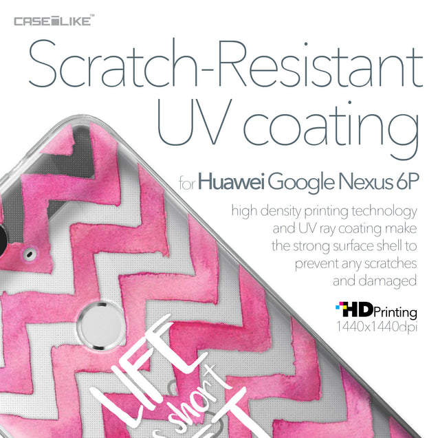 Huawei Google Nexus 6P case Quote 2419 with UV-Coating Scratch-Resistant Case | CASEiLIKE.com
