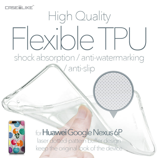 Huawei Google Nexus 6P case Quote 2420 Soft Gel Silicone Case | CASEiLIKE.com
