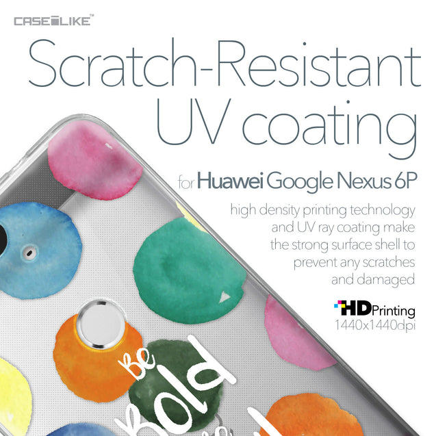 Huawei Google Nexus 6P case Quote 2420 with UV-Coating Scratch-Resistant Case | CASEiLIKE.com
