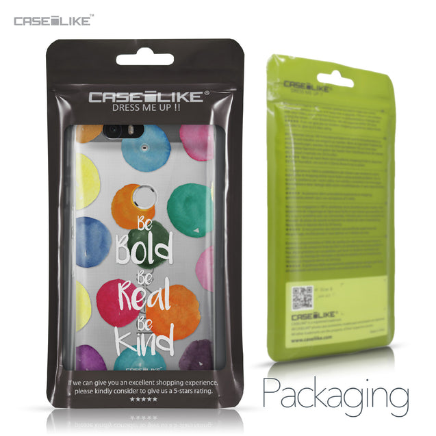 Huawei Google Nexus 6P case Quote 2420 Retail Packaging | CASEiLIKE.com