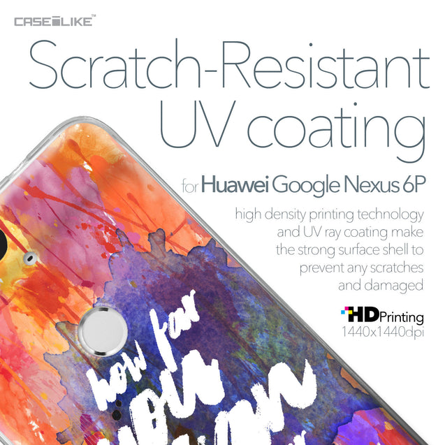Huawei Google Nexus 6P case Quote 2421 with UV-Coating Scratch-Resistant Case | CASEiLIKE.com