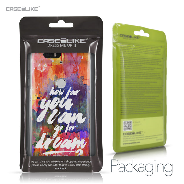 Huawei Google Nexus 6P case Quote 2421 Retail Packaging | CASEiLIKE.com