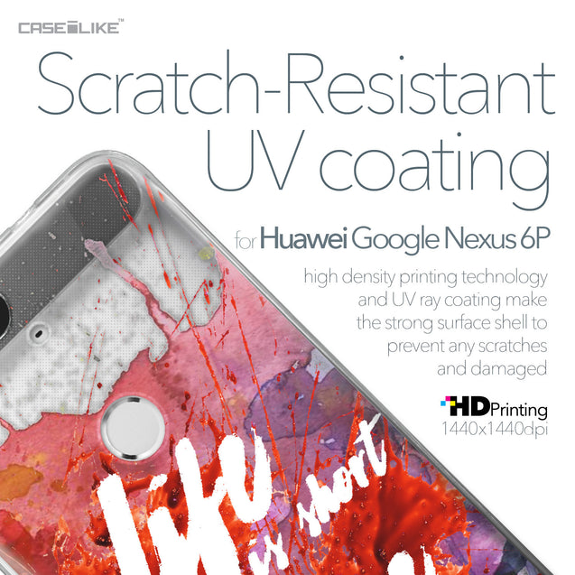 Huawei Google Nexus 6P case Quote 2423 with UV-Coating Scratch-Resistant Case | CASEiLIKE.com