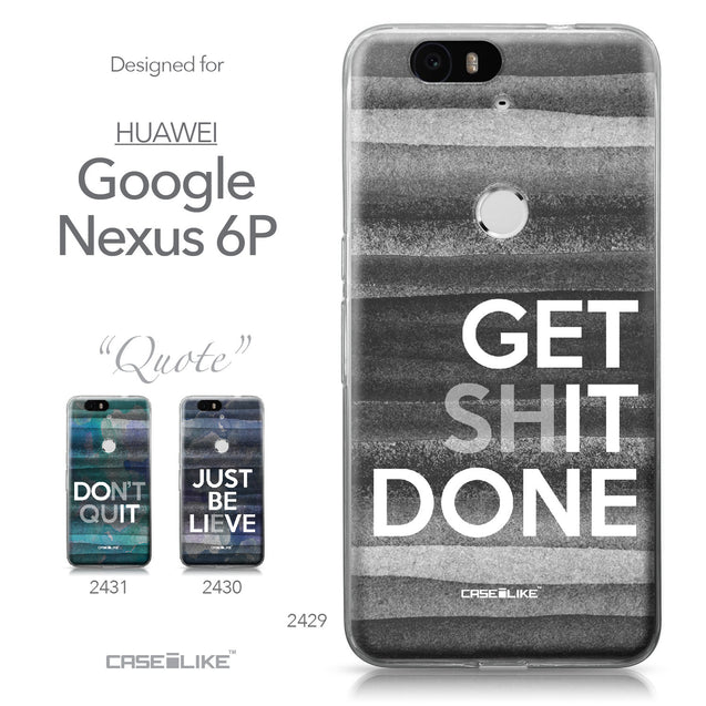 Huawei Google Nexus 6P case Quote 2429 Collection | CASEiLIKE.com