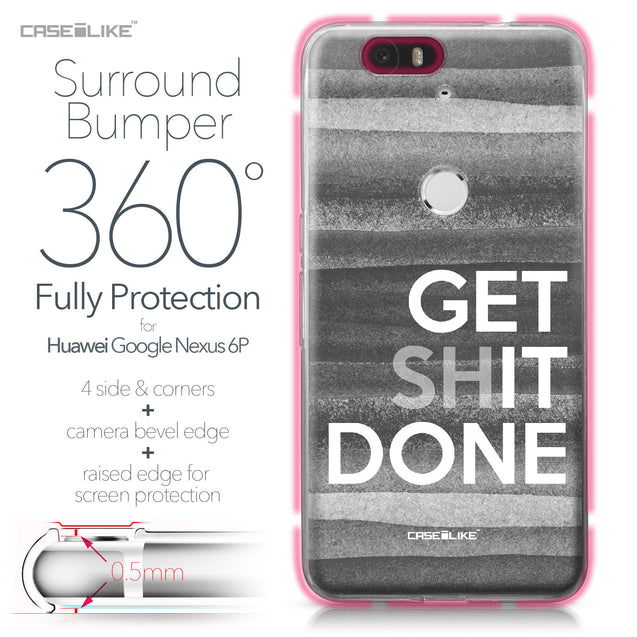 Huawei Google Nexus 6P case Quote 2429 Bumper Case Protection | CASEiLIKE.com