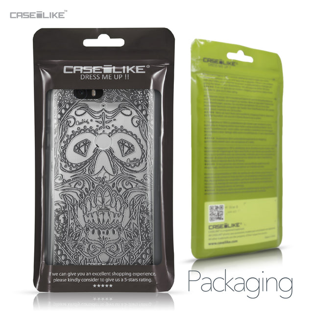 Huawei Google Nexus 6P case Art of Skull 2524 Retail Packaging | CASEiLIKE.com