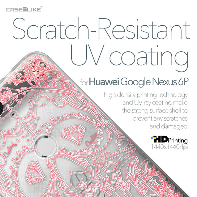 Huawei Google Nexus 6P case Art of Skull 2525 with UV-Coating Scratch-Resistant Case | CASEiLIKE.com