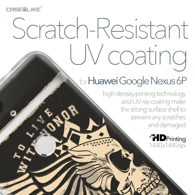 Huawei Google Nexus 6P case Art of Skull 2529 with UV-Coating Scratch-Resistant Case | CASEiLIKE.com