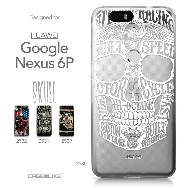 Huawei Google Nexus 6P case Art of Skull 2530 Collection | CASEiLIKE.com