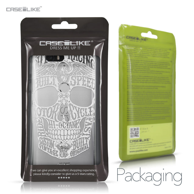 Huawei Google Nexus 6P case Art of Skull 2530 Retail Packaging | CASEiLIKE.com