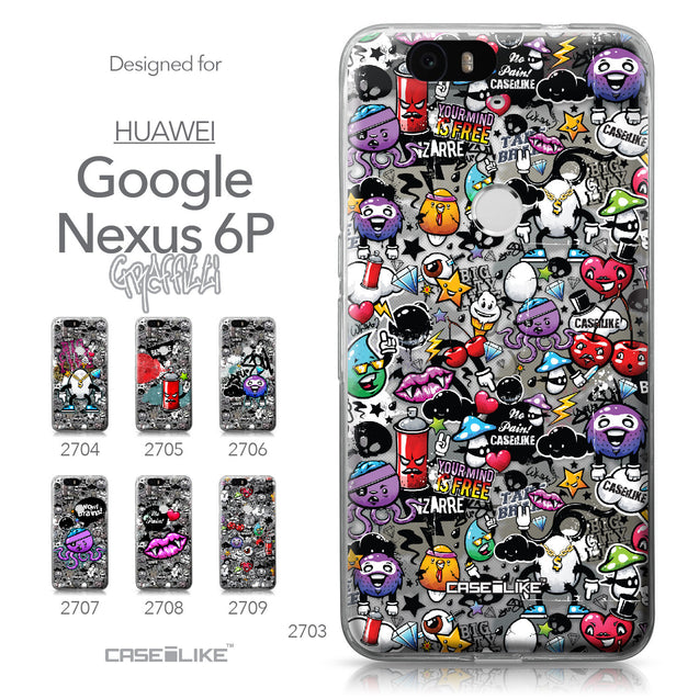 Huawei Google Nexus 6P case Graffiti 2703 Collection | CASEiLIKE.com