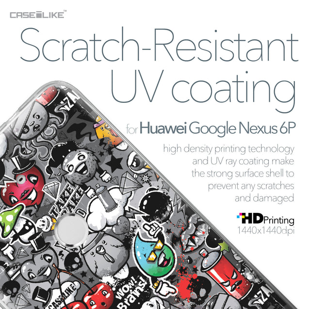 Huawei Google Nexus 6P case Graffiti 2709 with UV-Coating Scratch-Resistant Case | CASEiLIKE.com