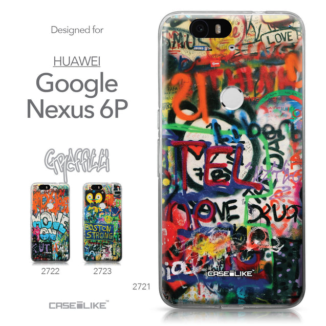Huawei Google Nexus 6P case Graffiti 2721 Collection | CASEiLIKE.com