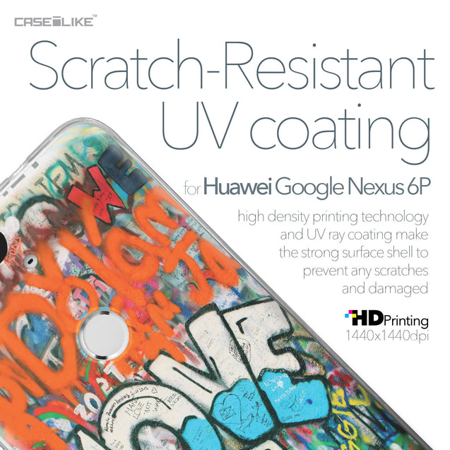 Huawei Google Nexus 6P case Graffiti 2722 with UV-Coating Scratch-Resistant Case | CASEiLIKE.com