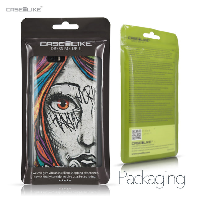 Huawei Google Nexus 6P case Graffiti Girl 2724 Retail Packaging | CASEiLIKE.com