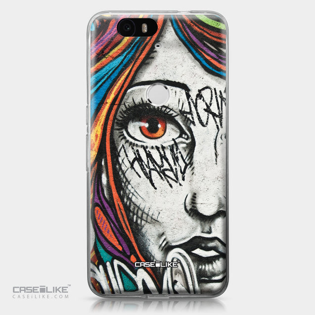 Huawei Google Nexus 6P case Graffiti Girl 2724 | CASEiLIKE.com