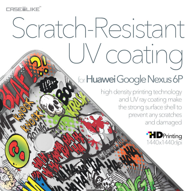 Huawei Google Nexus 6P case Comic Captions 2914 with UV-Coating Scratch-Resistant Case | CASEiLIKE.com