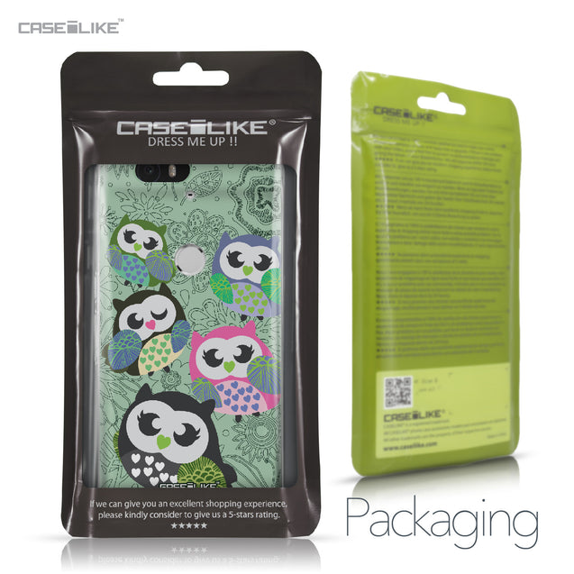 Huawei Google Nexus 6P case Owl Graphic Design 3313 Retail Packaging | CASEiLIKE.com