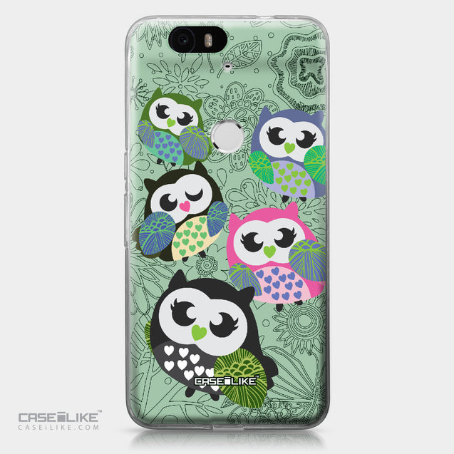 Huawei Google Nexus 6P case Owl Graphic Design 3313 | CASEiLIKE.com