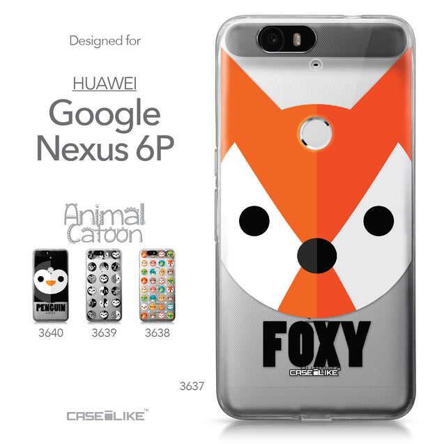 Huawei Google Nexus 6P case Animal Cartoon 3637 Collection | CASEiLIKE.com