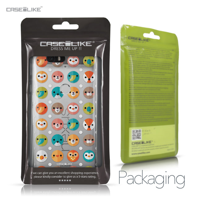 Huawei Google Nexus 6P case Animal Cartoon 3638 Retail Packaging | CASEiLIKE.com