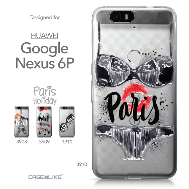 Huawei Google Nexus 6P case Paris Holiday 3910 Collection | CASEiLIKE.com