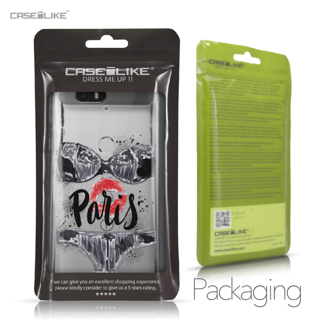Huawei Google Nexus 6P case Paris Holiday 3910 Retail Packaging | CASEiLIKE.com