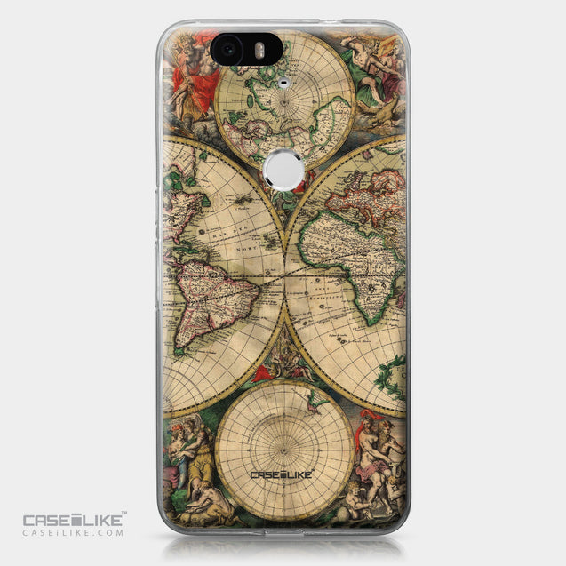 Huawei Google Nexus 6P case World Map Vintage 4607 | CASEiLIKE.com