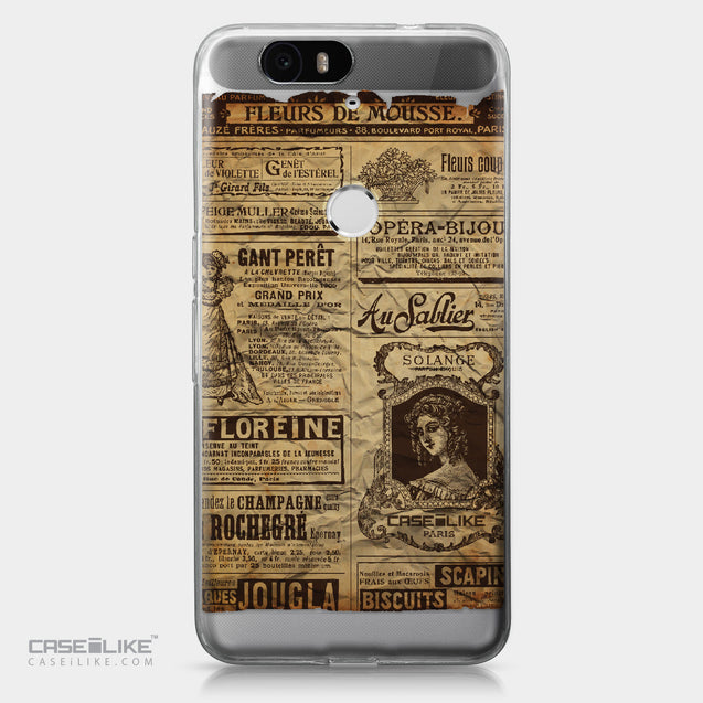 Huawei Google Nexus 6P case Vintage Newspaper Advertising 4819 | CASEiLIKE.com