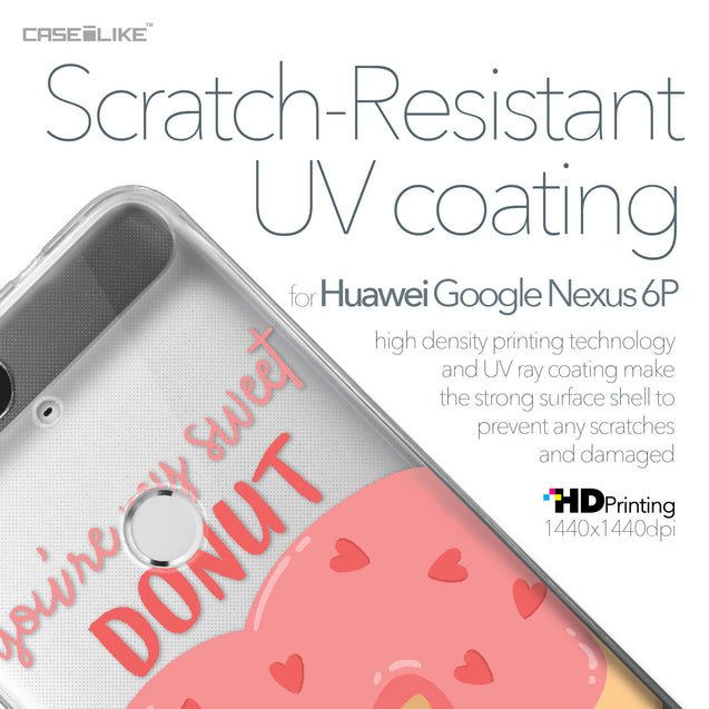 Huawei Google Nexus 6P case Dounuts 4823 with UV-Coating Scratch-Resistant Case | CASEiLIKE.com