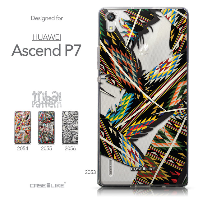 Collection - CASEiLIKE Huawei Ascend P7 back cover Indian Tribal Theme Pattern 2053