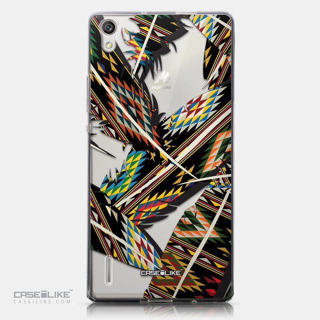CASEiLIKE Huawei Ascend P7 back cover Indian Tribal Theme Pattern 2053