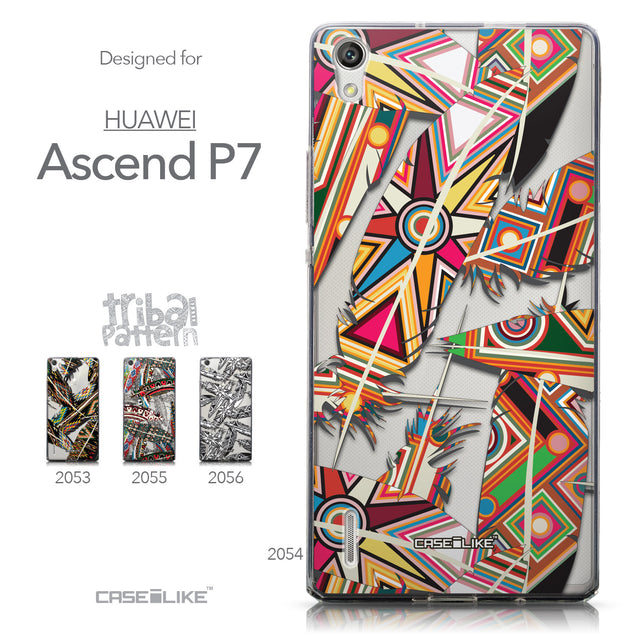 Collection - CASEiLIKE Huawei Ascend P7 back cover Indian Tribal Theme Pattern 2054