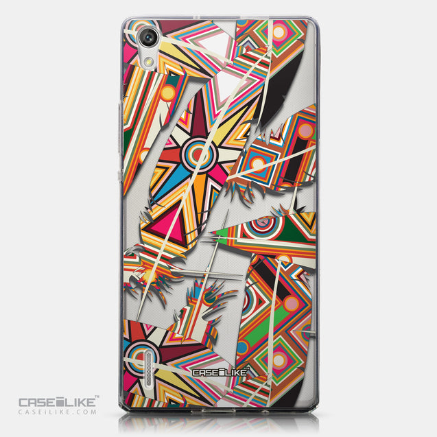 CASEiLIKE Huawei Ascend P7 back cover Indian Tribal Theme Pattern 2054