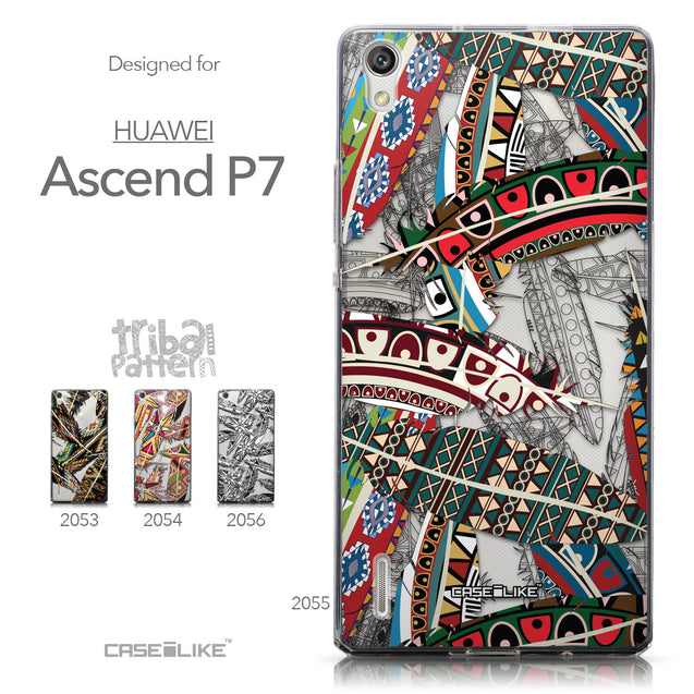 Collection - CASEiLIKE Huawei Ascend P7 back cover Indian Tribal Theme Pattern 2055