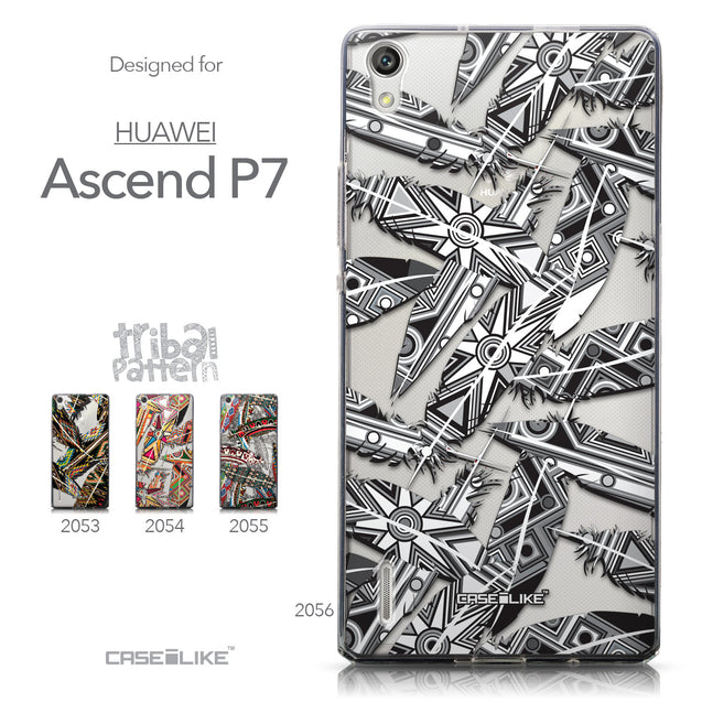 Collection - CASEiLIKE Huawei Ascend P7 back cover Indian Tribal Theme Pattern 2056