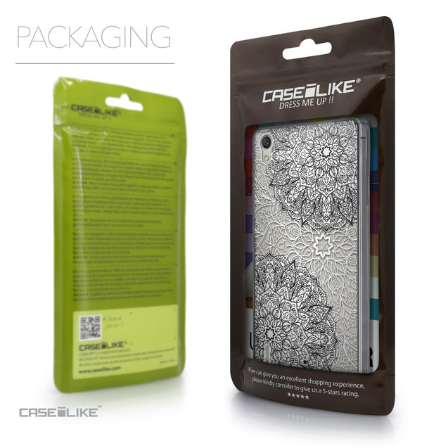 Packaging - CASEiLIKE Huawei Ascend P7 back cover Mandala Art 2093