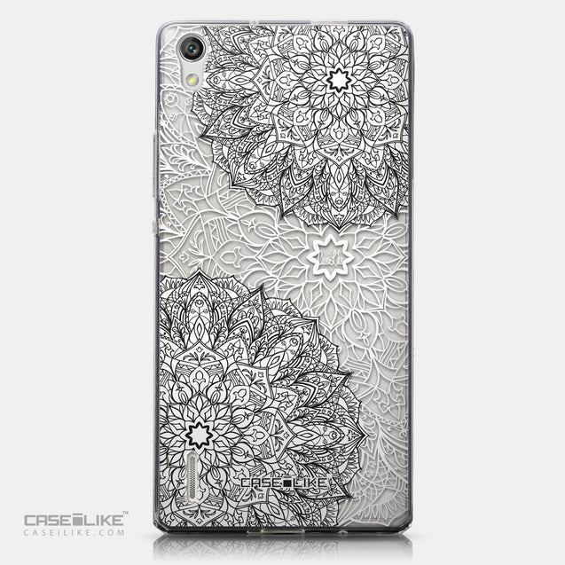 CASEiLIKE Huawei Ascend P7 back cover Mandala Art 2093